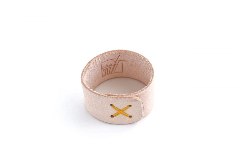 deri peçete yüzüğü