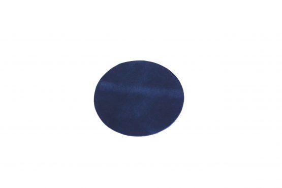 Deri Bardak Altlığı Koyu Mavi
