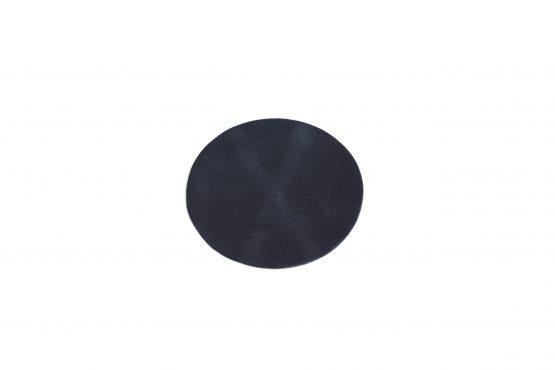 Deri Bardak Altlığı Mat Siyah